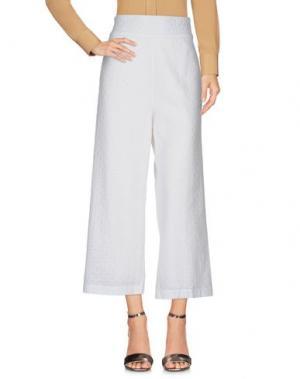 Повседневные брюки BRIGITTE BARDOT. Цвет: белый