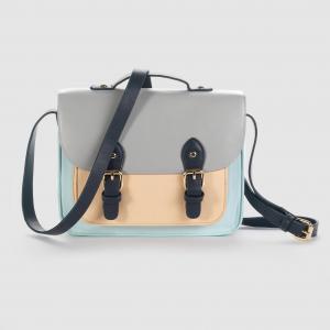 Цветная сумка-портфель. MADEMOISELLE R. Цвет: разноцветный
