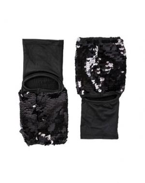 Перчатки MES DEMOISELLES. Цвет: черный