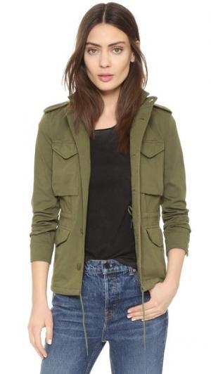 Облегающая куртка M-43 NLST. Цвет: оливковый