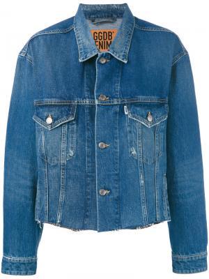 Denim jacket Golden Goose Deluxe Brand. Цвет: синий