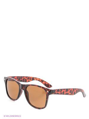 Солнцезащитные очки ТВОЕ. Цвет: темно-коричневый