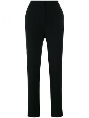 Классические брюки с высокой талией Marc Cain. Цвет: чёрный