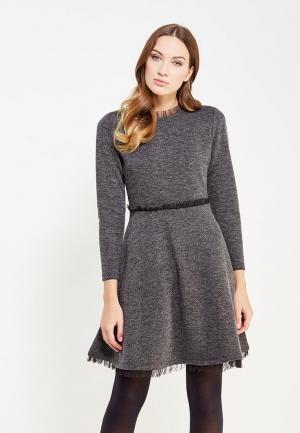 Платье Love Republic. Цвет: серый
