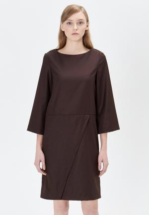 Платье Base Forms. Цвет: коричневый