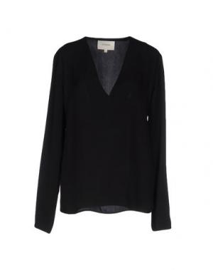 Блузка NANUSHKA. Цвет: черный