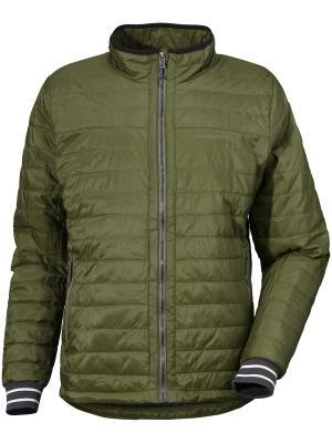 Куртка KENT DIDRIKSONS. Цвет: серо-зеленый