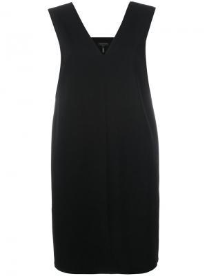 Платье с V-образным вырезом на спине Rag & Bone. Цвет: чёрный