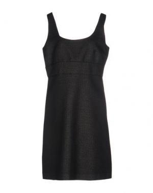 Платье до колена MALAICA. Цвет: черный