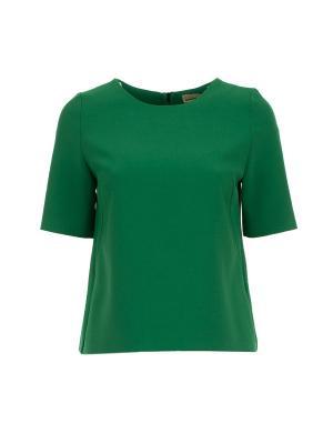 Блузка Inna Honour. Цвет: зеленый