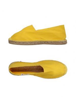 Эспадрильи ESPADRILLES. Цвет: желтый