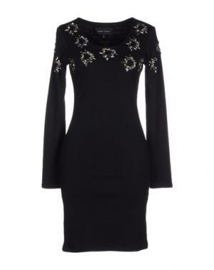 Короткое платье FELDER. Цвет: черный