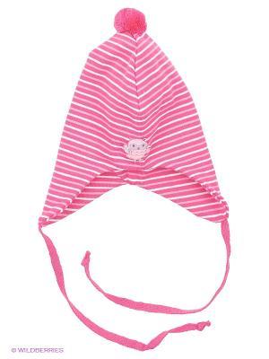 Шапка Kivat. Цвет: розовый, белый