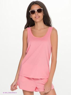 Топ Vero moda. Цвет: розовый