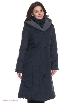 Пальто KAROLIINA Maritta. Цвет: темно-синий