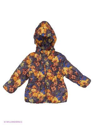 Куртка Hippo Hoppo. Цвет: желтый, серый
