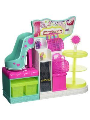 Эксклюзивный игровой набор Модная лихорадка  Хранение обуви Moose. Цвет: розовый
