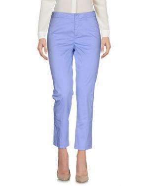 Повседневные брюки SONIA DE NISCO. Цвет: сиреневый