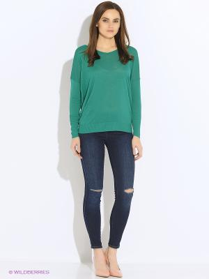 Лонгслив United Colors of Benetton. Цвет: лазурный