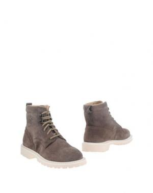 Полусапоги и высокие ботинки DIEMME. Цвет: серый