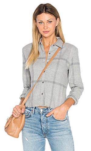 Укороченная рубашка carlie Joes Jeans Joe's. Цвет: серый