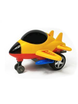 Самолет Азбука Тойс. Цвет: желтый