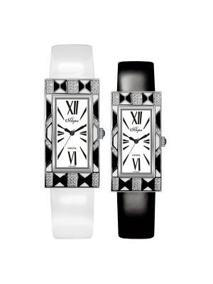Часы Mikhail Moskvin. Цвет: черный, белый, серебристый