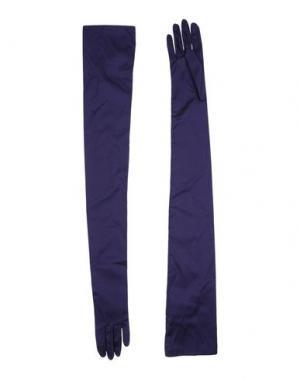 Перчатки ANGELO TARLAZZI. Цвет: фиолетовый
