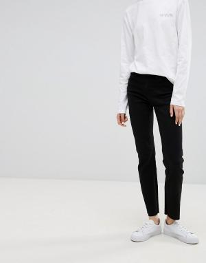Waven Прямые джинсы Mari. Цвет: черный