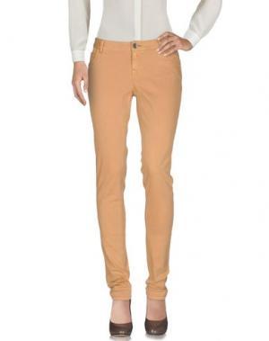 Повседневные брюки TIMEOUT. Цвет: верблюжий