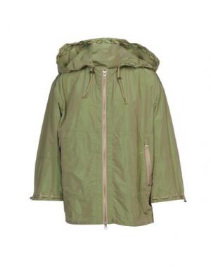 Куртка 313 TRE UNO. Цвет: зеленый