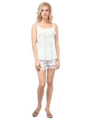 Пижама Balancelle. Цвет: кремовый