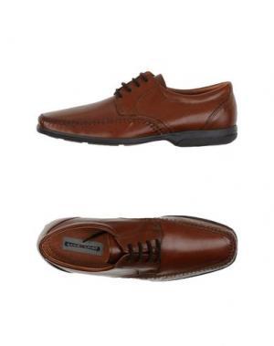 Обувь на шнурках MAX LIMIT. Цвет: коричневый