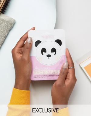 Beauty Extras Листовые маски для лица в виде животных. Цвет: бесцветный