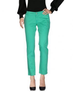 Повседневные брюки 2W2M. Цвет: зеленый
