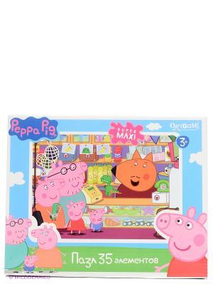 Пазл.35 Сувенирная лавка Peppa Pig. Цвет: розовый, голубой, зеленый
