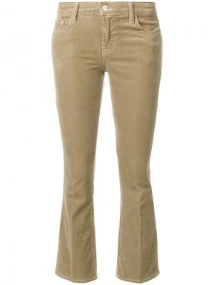 Укороченные брюки J Brand. Цвет: телесный