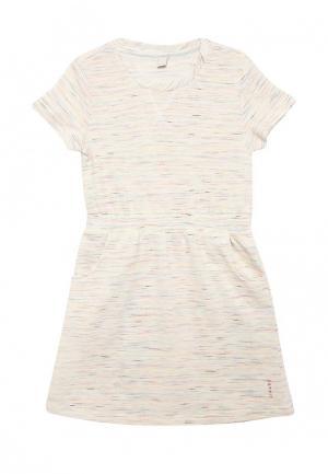 Платье Esprit. Цвет: бежевый