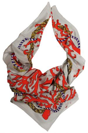 Шелковый платок SHALBE. Цвет: мультицвет