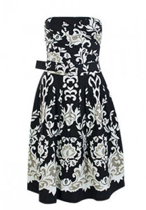 Платье SAMANTHA SUNG. Цвет: черный