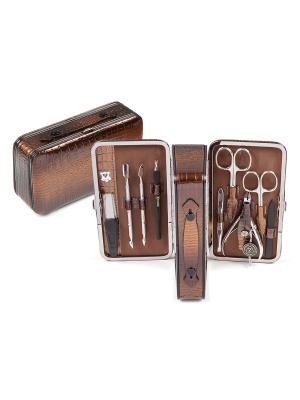 Маникюрный набор Zinger. Цвет: бронзовый