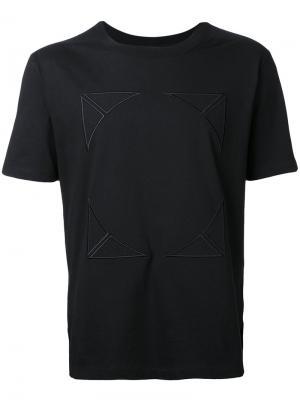 Embroidered T-shirt General Idea. Цвет: чёрный