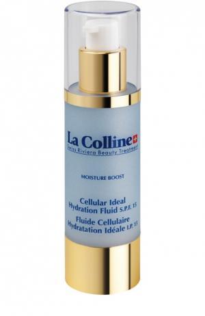 Увлажняющий флюид SPF 15 с клеточным комплексом La Colline. Цвет: бесцветный