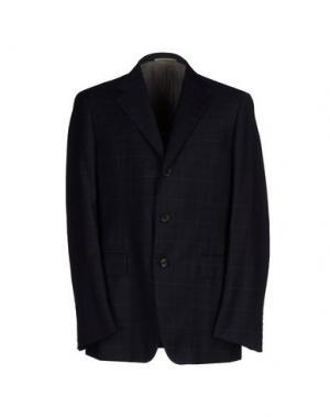 Пиджак CALVARESI. Цвет: темно-синий