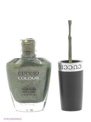 Лак Cuccio Colour, Vivacious Verdi COLOUR. Цвет: темно-зеленый