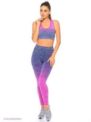 Леггинсы Pro-Fit. Цвет: фиолетовый