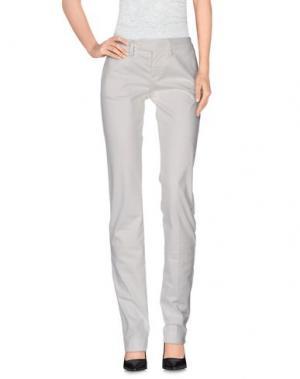 Повседневные брюки PAOLA FRANI. Цвет: слоновая кость