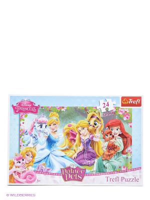 Пазл Прекрасные принцессы Trefl. Цвет: голубой