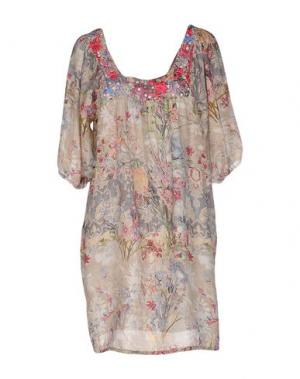 Блузка ANJUNA. Цвет: бежевый