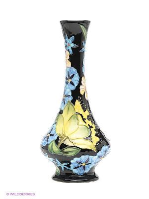 Ваза Pavone. Цвет: черный, зеленый, голубой